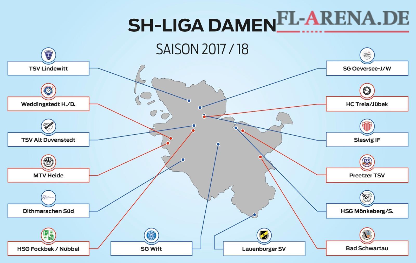 SG Oeversee/J-W - Damen - Schleswig-Holstein Liga - FL-ARENA