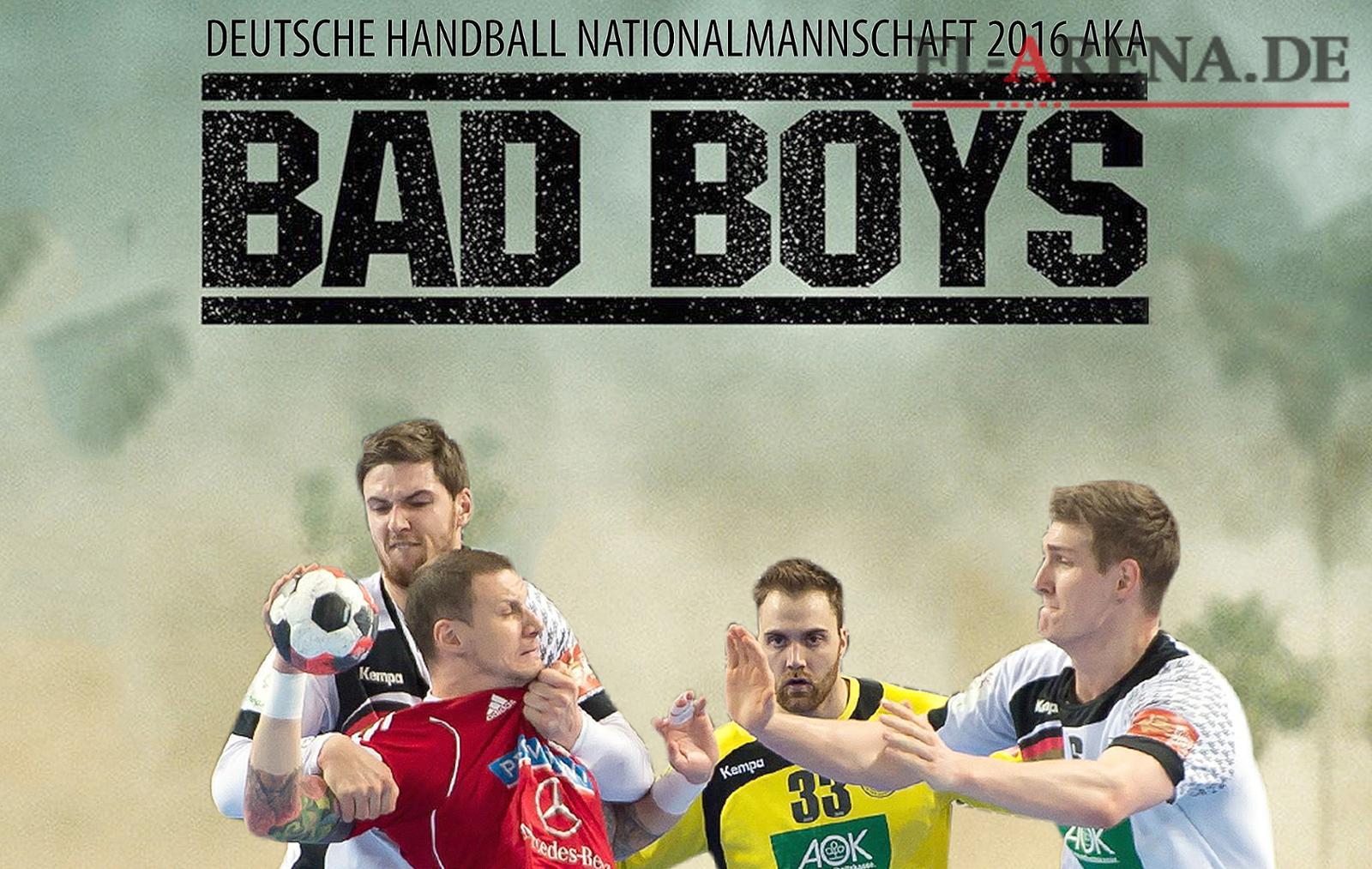 Schlachtruf Handball Nationalmannschaft