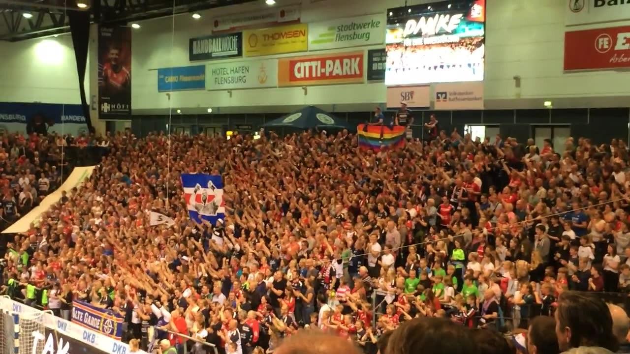 Tobias Karlsson letztes Heimspiel