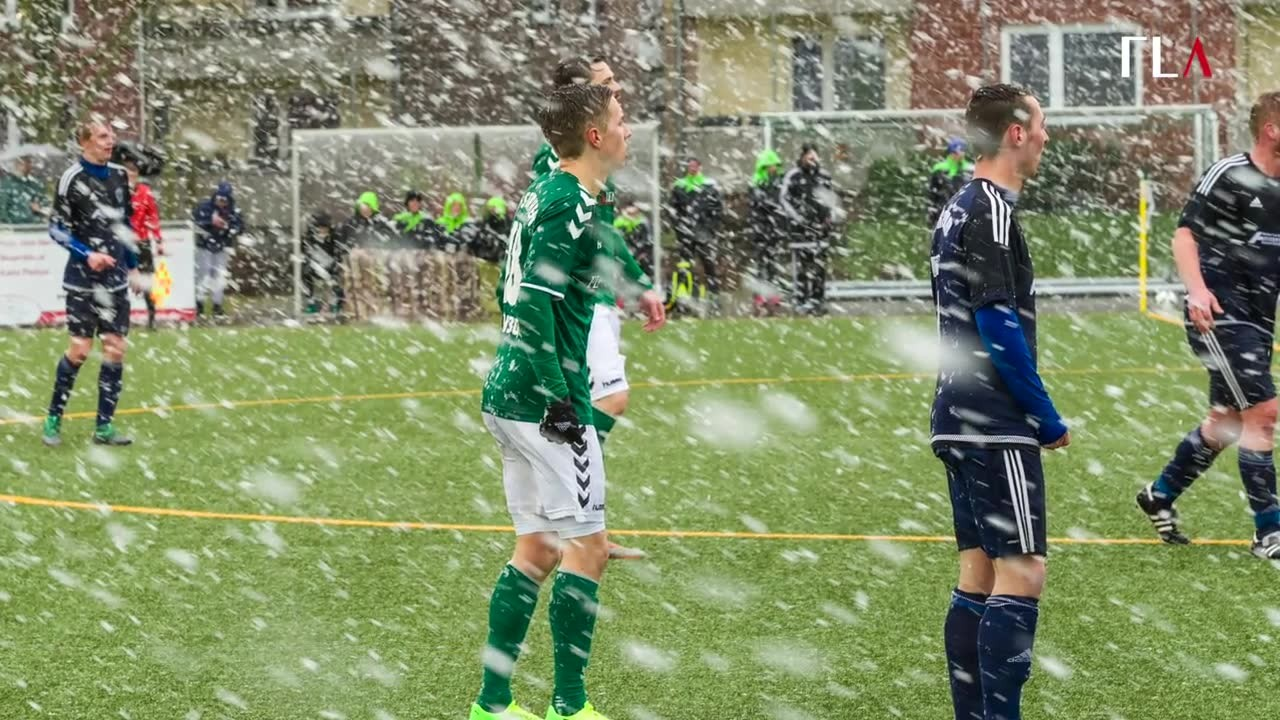 IF Stjernen Flensborg im Schnee
